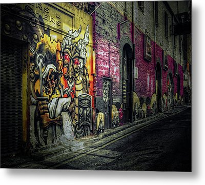 Metal Print featuring the photograph Dreamscape by Wayne Sherriff
