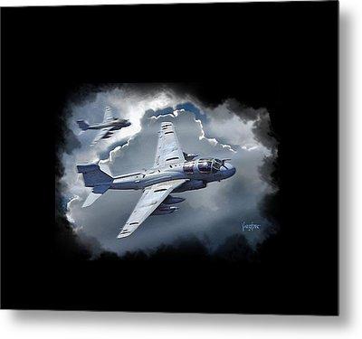 Ea-6b Prowler Metal Print