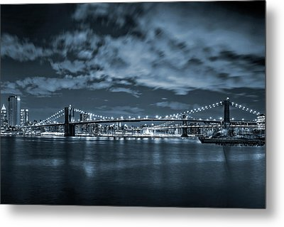 East River View Metal Print