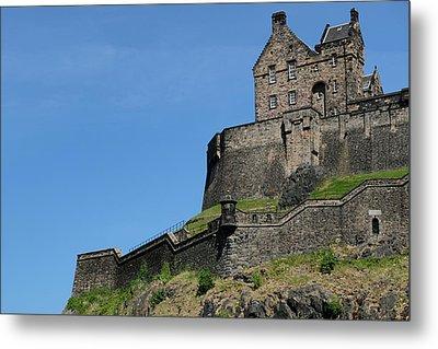 Metal Print featuring the photograph Edinburgh Castle by Jeremy Lavender Photography