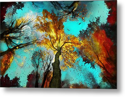 Evening Celebration Metal Print