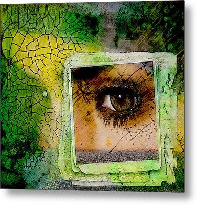 Eye, Me, Mine Metal Print