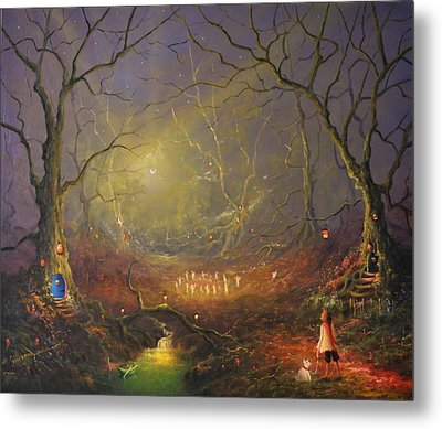 The Fairy Ring Metal Print