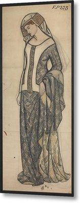 Figure Of Guinevere Metal Print