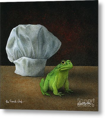 French Chef... Metal Print by Will Bullas