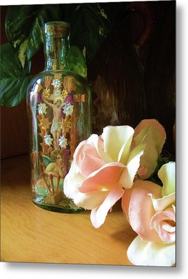 Metal Print featuring the photograph Gifts Momma Left Me by Alga Washington