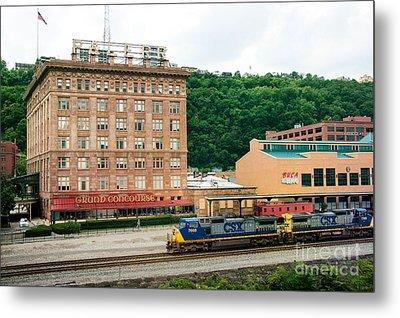 Grand Concourse Station Square Pittsburgh Pennsylvania Metal Print