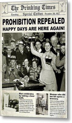 Happy Days Are Here Again Metal Print by Jon Neidert