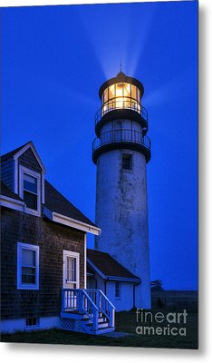 Highland Lighthouse Metal Print by John Greim
