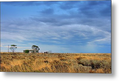 Metal Print featuring the photograph Homestead by Tim Nichols