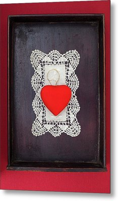 I Gift My Heart To You Metal Print by Bernice Williams