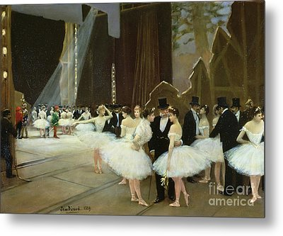 In The Wings At The Opera House Metal Print