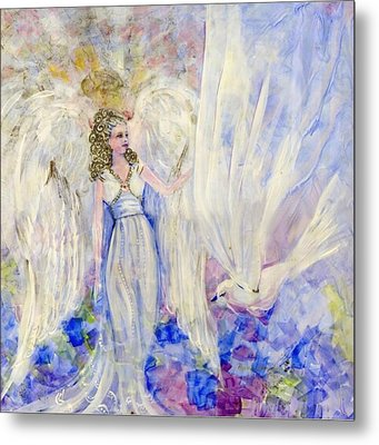Inspiration Metal Print by Rosemary Babikan