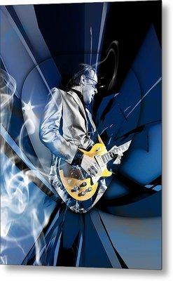 Joe Bonamassa Blues Guitarist Metal Print by Marvin Blaine