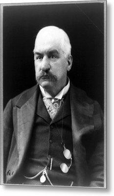 John Pierpont Morgan, Financierbanker Metal Print by Everett