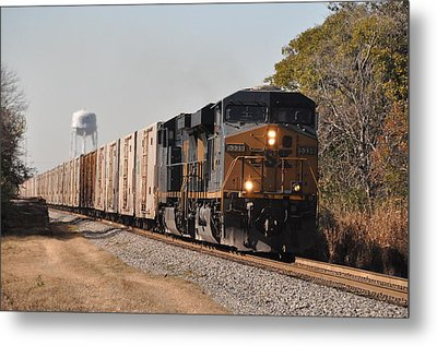Metal Print featuring the photograph Juice Train by John Black