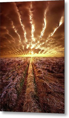 Metal Print featuring the photograph Just Over The Horizon by Phil Koch
