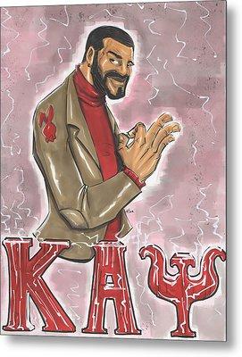 Kappa Alpha Psi Fraternity Inc Metal Print by Tu-Kwon Thomas