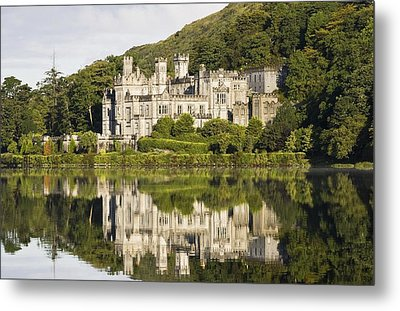 Kylemore Abbey, County Galway, Ireland Metal Print by Peter McCabe