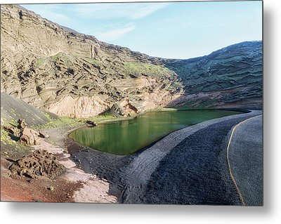Lago Verde - Lanzarote Metal Print by Joana Kruse