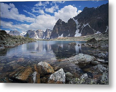 Lake Agnes Metal Print by Bernard Chen