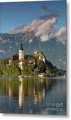 Metal Print featuring the photograph Lake Bled by Brian Jannsen