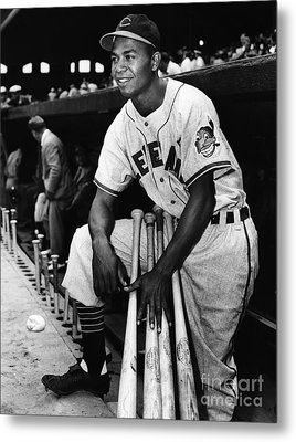 Larry Doby (1923-2003) Metal Print by Granger