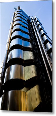 Lloyds Of London  Metal Print by David Pyatt