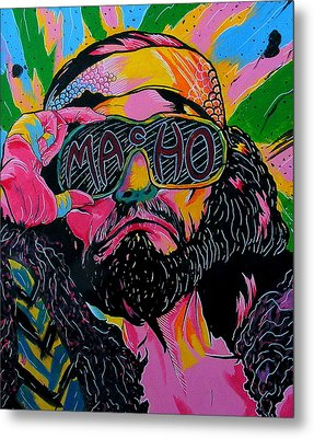 Macho Man Metal Print by Brian Typhair