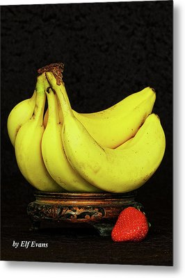 Metal Print featuring the photograph Mellow Yellows And Red by Elf Evans
