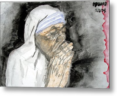 Miracle Mother Metal Print by Rooma Mehra