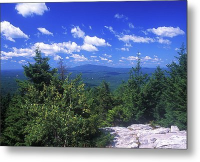 Mount Monadnock From Pack Monadnock Metal Print