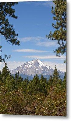 Mount Shasta Metal Print by Daniel Hebard
