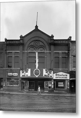 Movie Theaters, The G.f. Andrae Opera Metal Print by Everett