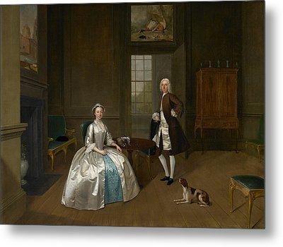 Mr And Mrs Atherton Metal Print