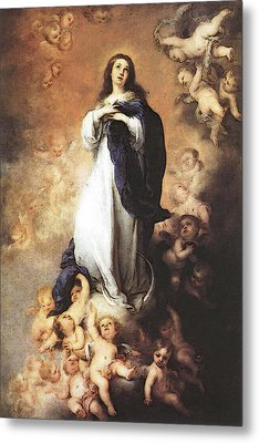 Murillo Immaculate Conception  Metal Print