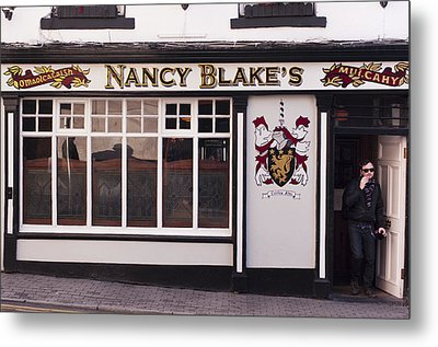 Nancy Blake's Irish Pub Metal Print