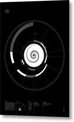 1 Narrative Metal Print by Oddityviz Space Oddity