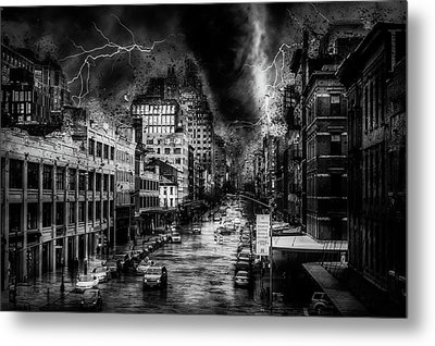 Night Terror Metal Print