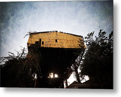 Obsolete Building Metal Print by Kam Chuen Dung