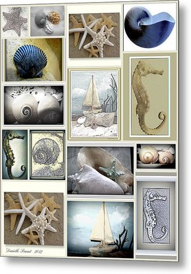 Ocean Wisper Metal Print by Danielle  Parent