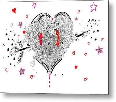 Overflowing Love Metal Print