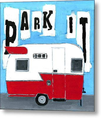 Park It Metal Print