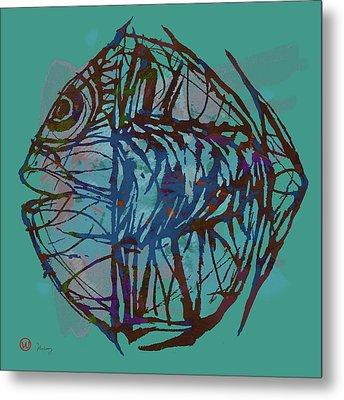 Pop Art - New Tropical Fish Poster Metal Print