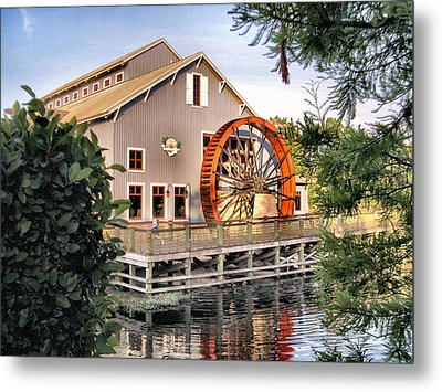 Port Orleans Riverside Iv Metal Print