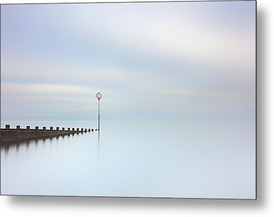 Metal Print featuring the photograph Portobello Seascape by Grant Glendinning