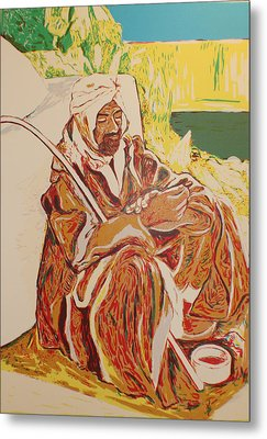 Prayer At Benghazi Metal Print by Biagio Civale