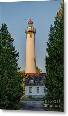 Presque Isle Lighthouse Metal Print by Patrick Shupert