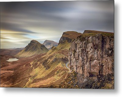 Metal Print featuring the photograph Quiraing - Isle Of Skye by Grant Glendinning