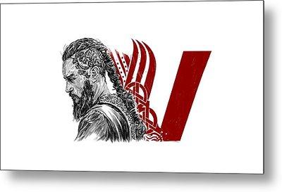 Ragnar Metal Print by Roman V